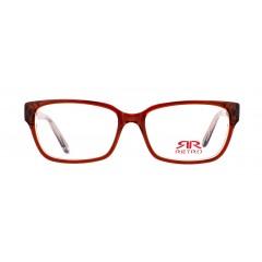 Диоптрична рамка Retro Retro 520 C1 Red