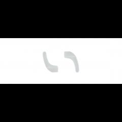 Силиконов накрайник White 2бр. 763
