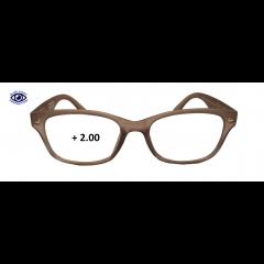 Очила за четене (SPH + 2.00) INfocus - Blue Light. Block - Grey
