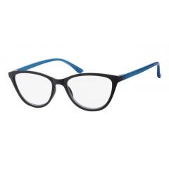 Очила за четене (SPH + 2.00) INfocus 6105 Black & Blue