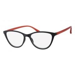 Очила за четене (SPH + 3.00) INfocus 6105 Black & Red