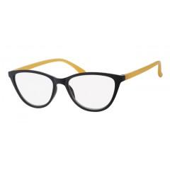 Очила за четене (SPH + 2.50) INfocus 6105 Black & Yellow